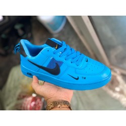 NIKE AIRFORCE LTD EDITION SNEAKER SHOES BLUE