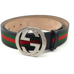 Red Green Gucci Belt GG Buckle Gucci Belt For Men Imported Belt ( Free Size )
