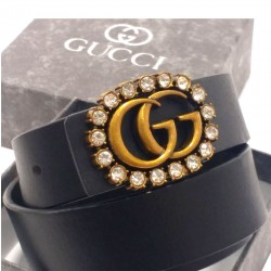 Gucci Belt GG Buckle Stone Gucci Belt For Women Multi Color ( Free Size )