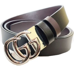 Gucci GG Silver Buckle Belt For Men Women Unisex Bffffelt ( Free Size )