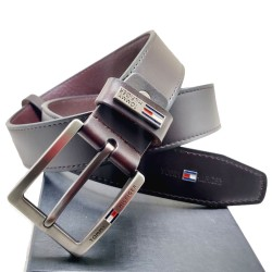 Tommy Brown Formal Belt Tommy Belt ( Free Size )