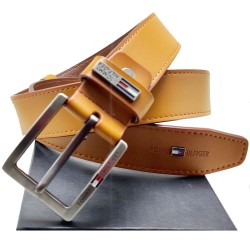 Tommy Tan Color Formal Belt Tommy Belt ( Free Size )