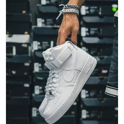 NIKE AIRFORCE MIDANKLE WHITE NIKE AIRFORCE WHITE SHOES