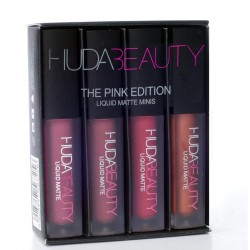 BUY HUDA BEAUTY The Pink Edition Liquid Matte Minis Lipstick (Set of 4)