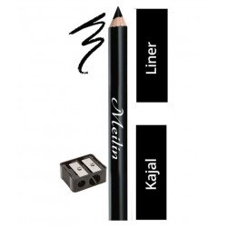 ADS Eye Care 12 Hrs Kajal Pencil Black Pack of 4 (3 g)