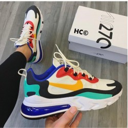 Nike Airmax 270 React White Multi Color Nike Shoes