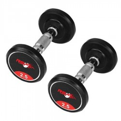5 KG Gym Dumbbells Rubber Coated Gym Dumbbells For Men Women ( 5 KG 2 Piece )