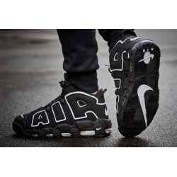 NIKE AIR BLACK UPTEMPO SHOES